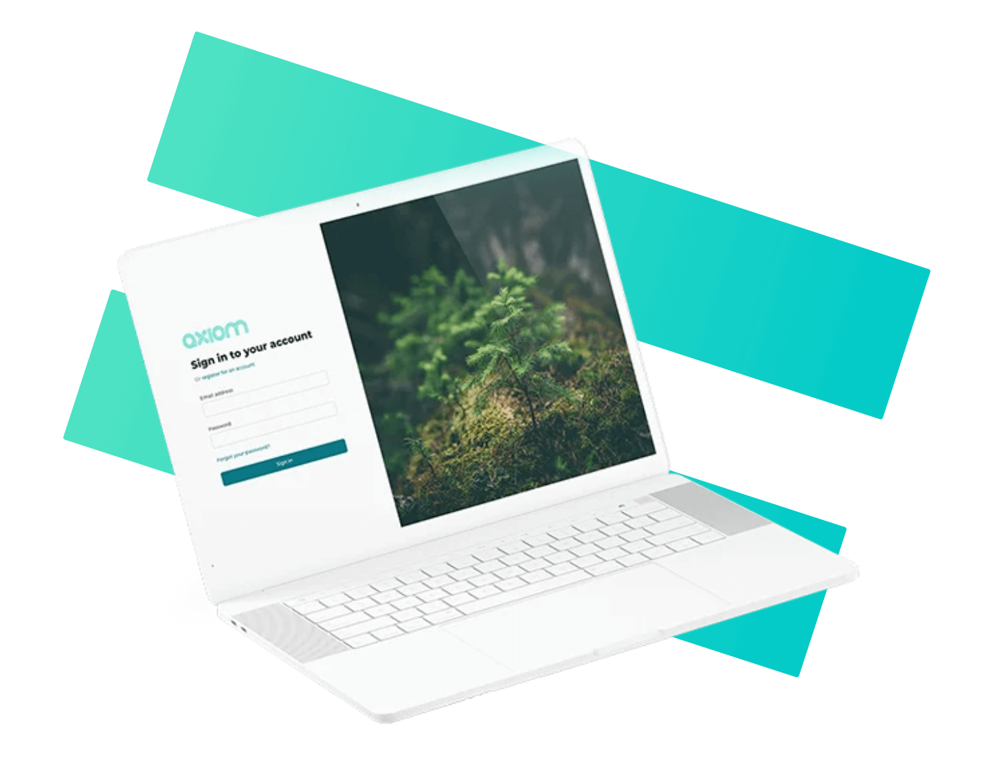 Axiom sustainability software login page